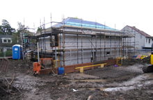 Bearsden Site Progress news image