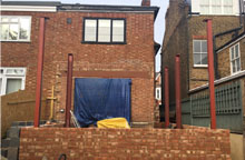 House Extension on Site in London  news image