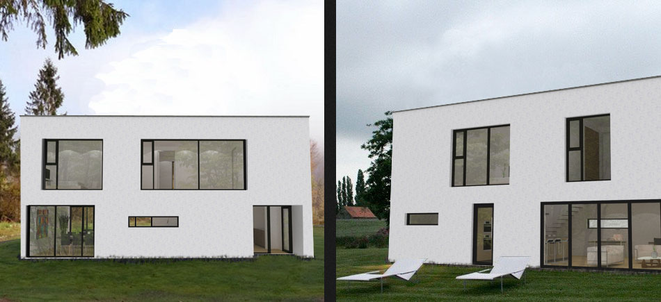 House plans and design modern house plans uk for Modern house designs uk