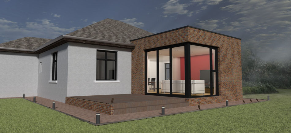 House Plans 1 Bedroom Extensions Plan
